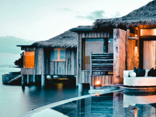 overwater villa private island-song saa cambodia
