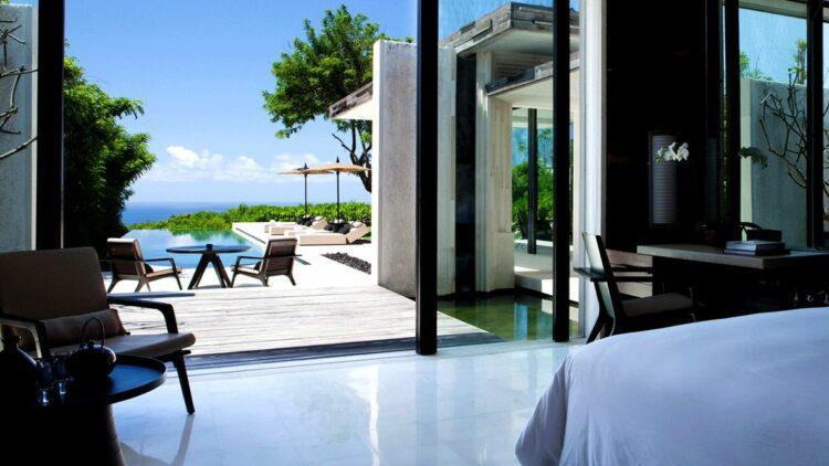 bedroom view-alila villas uluwatu bali