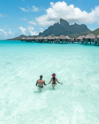 couple holiday-four seasons bora bora
