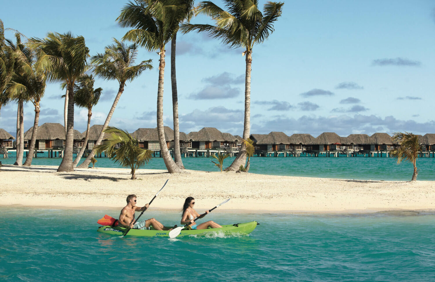 kayak-four seasons bora bora
