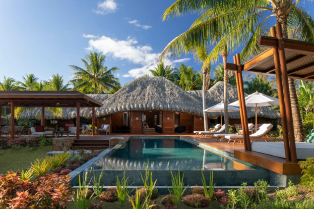 private villa pool-four seasons bora bora