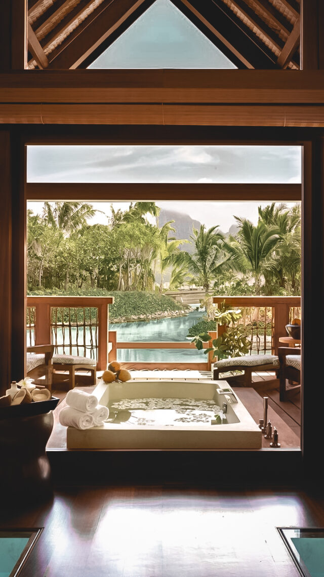 whirlpool bathroom view-four seasons resort bora bora