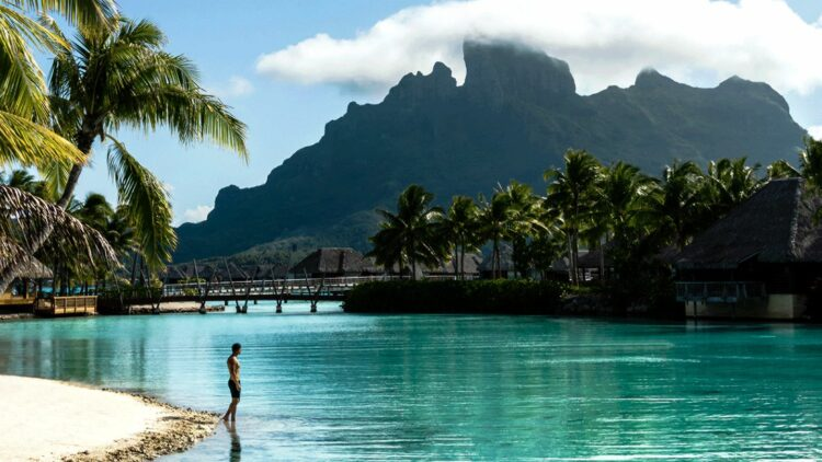 lagoon beachside-four seasons resort bora bora