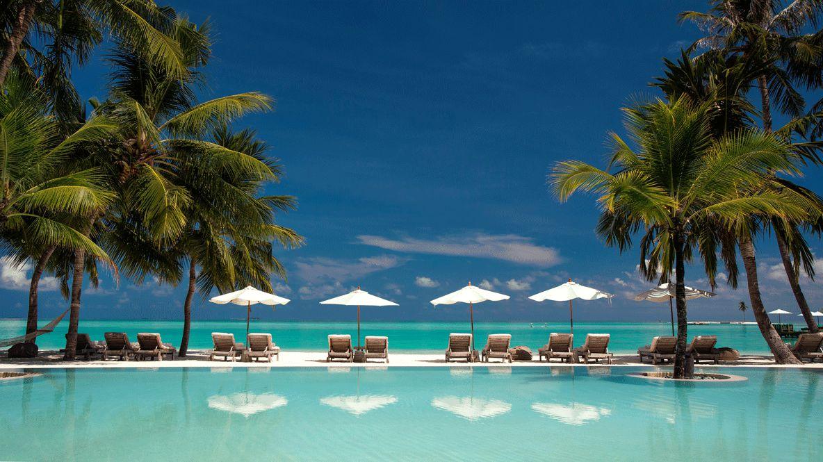 infinity pool beach-gili lankanfushi maldives