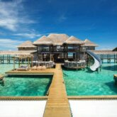 over water villa with slide-gili lankanfushi maldives