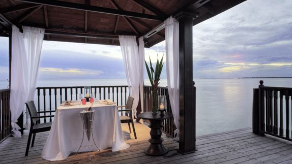 hotels in heaven residence zanzibar culinary dinner ocean view