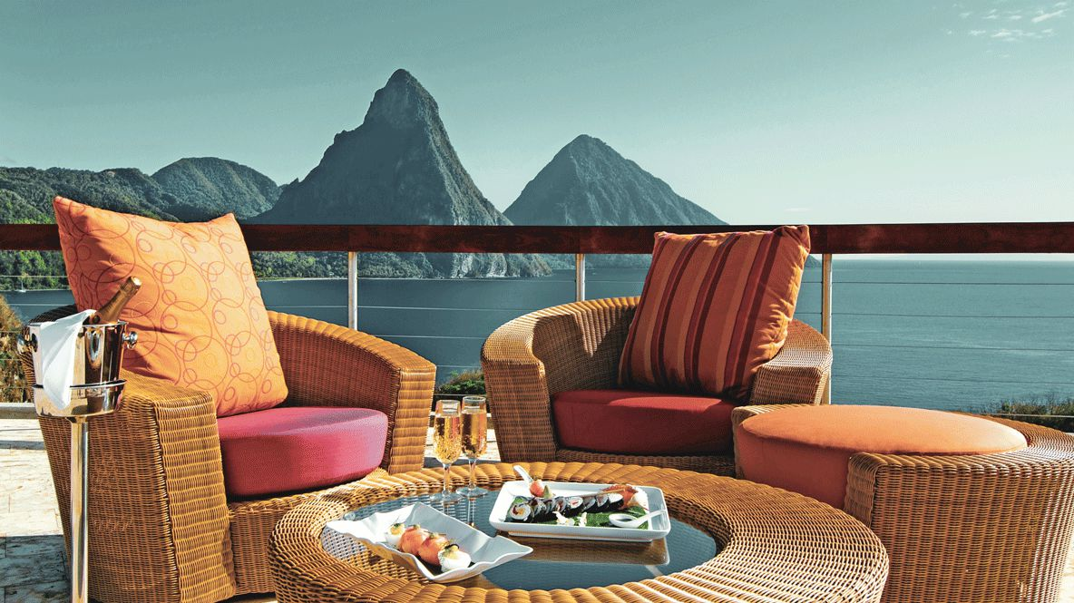 teracce view-jade mountain st. lucia