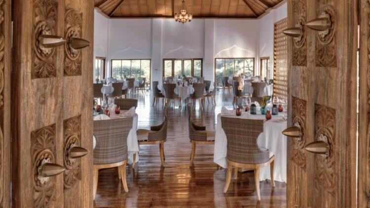 hotels in heaven residence zanzibar culinary restaurant food