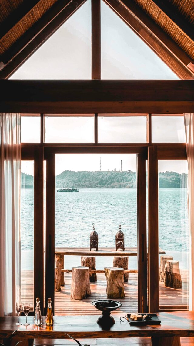 ocean view villa-song saa cambodia