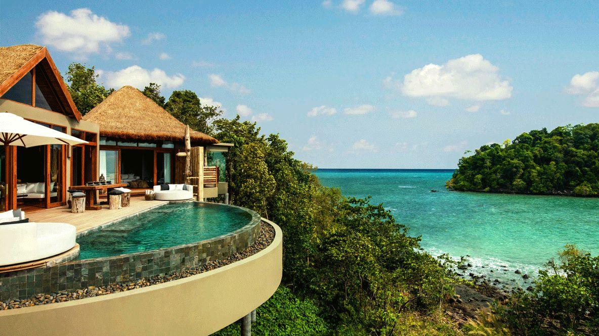 private pool villa-song saa cambodia