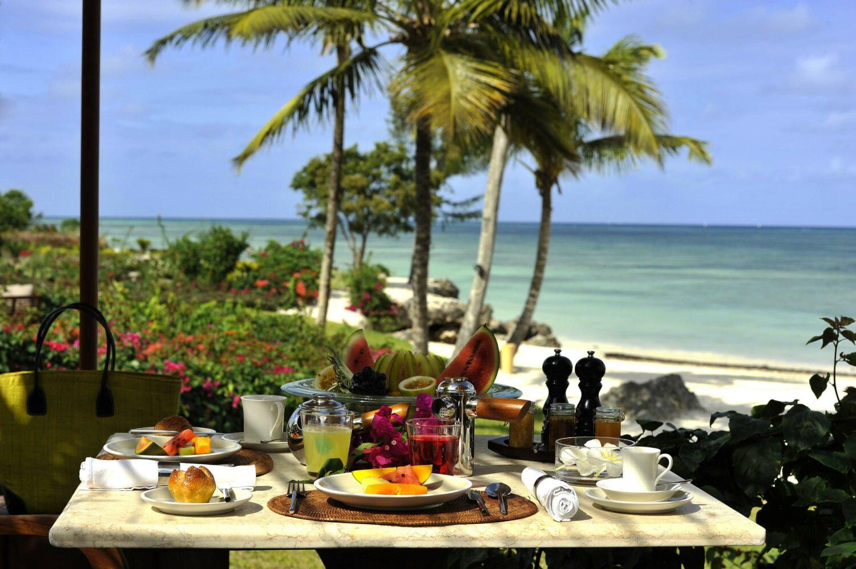 breakfast-the residence zanzibar