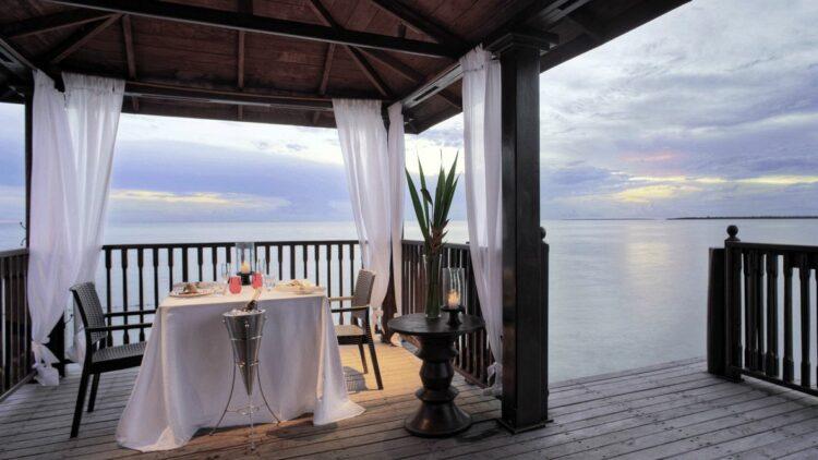 romantic dinner location-the residence zanzibar