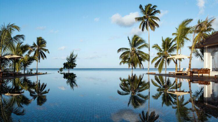 infinity pool-the residence zanzibar