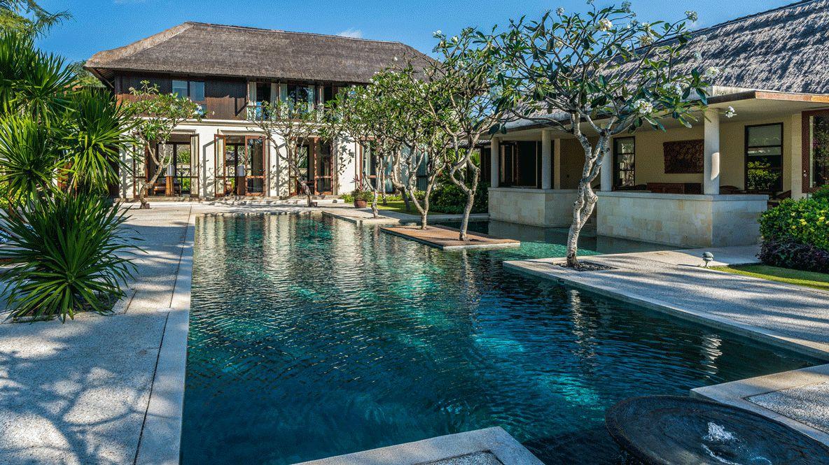 poolside-four seasons resort bali jimbaran bay