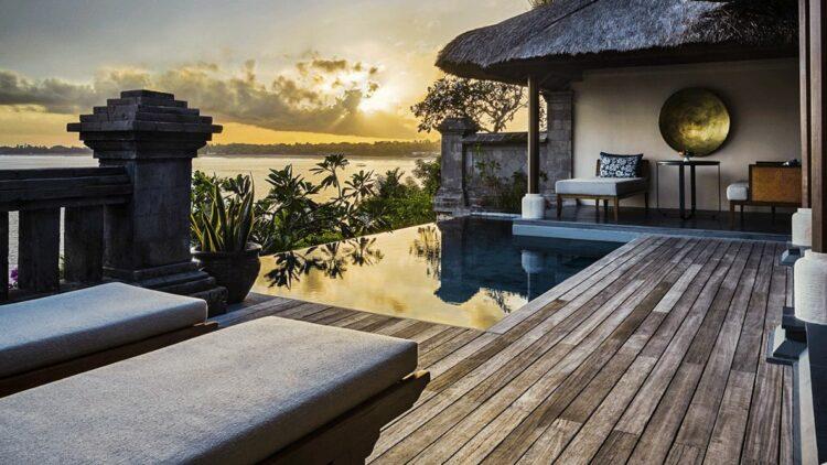 private villa with pool bali-four seasons resort bali jimbaran bay