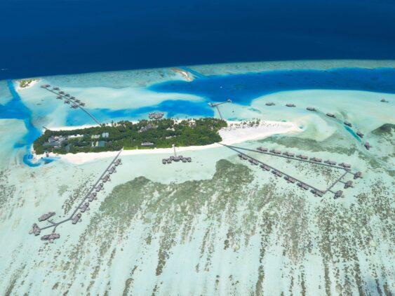 overview island hotel-gili lankanfushi maldives