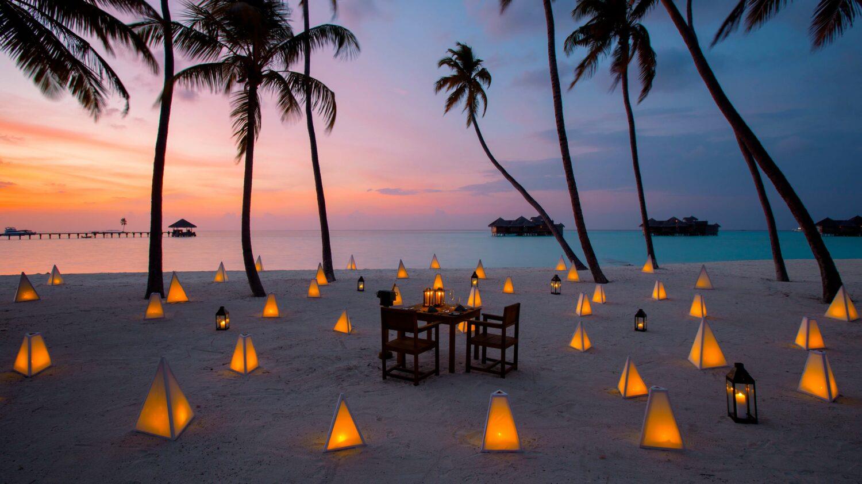 romantic fine dining-gili lankanfushi maldives