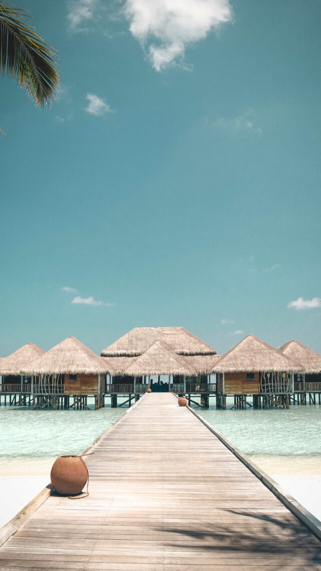overview water villas-gili lankanfushi maldives