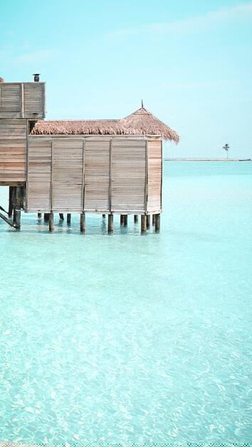 private villa ocean with hammock-gili lankanfushi maldives