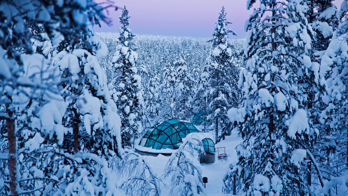 igloo snow-kakslauttanen artic resort