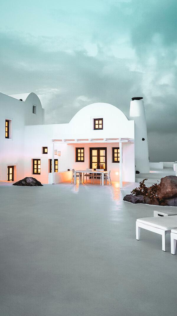 front hotel-aenaon villas greece