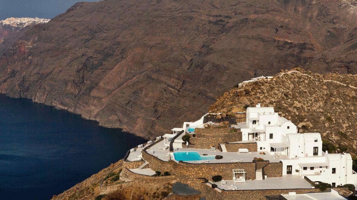 hotel on top-aenaon villas greece