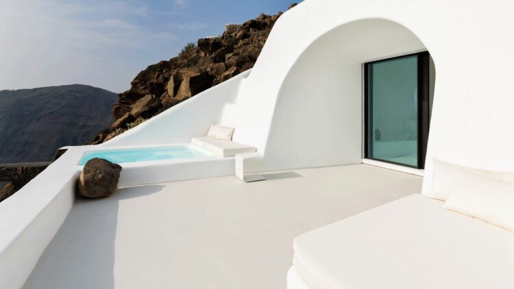 private whirlpool-aenaon villas greece