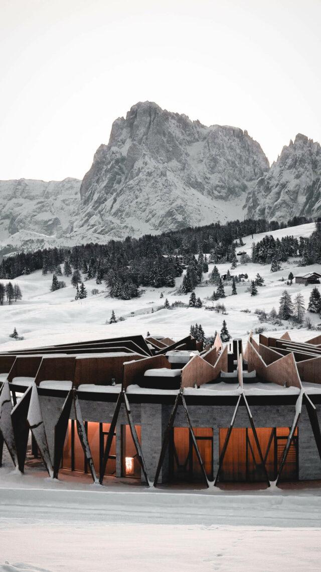facade hotel-alpina dolomites lodge
