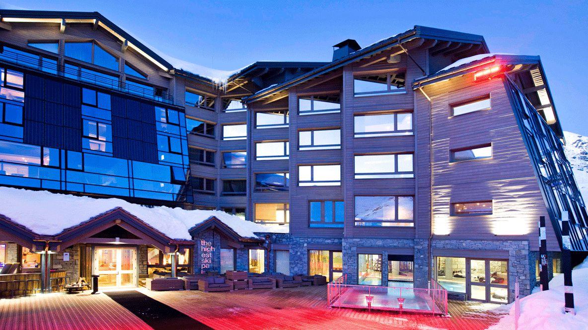 facade hotel-altapura val thorens