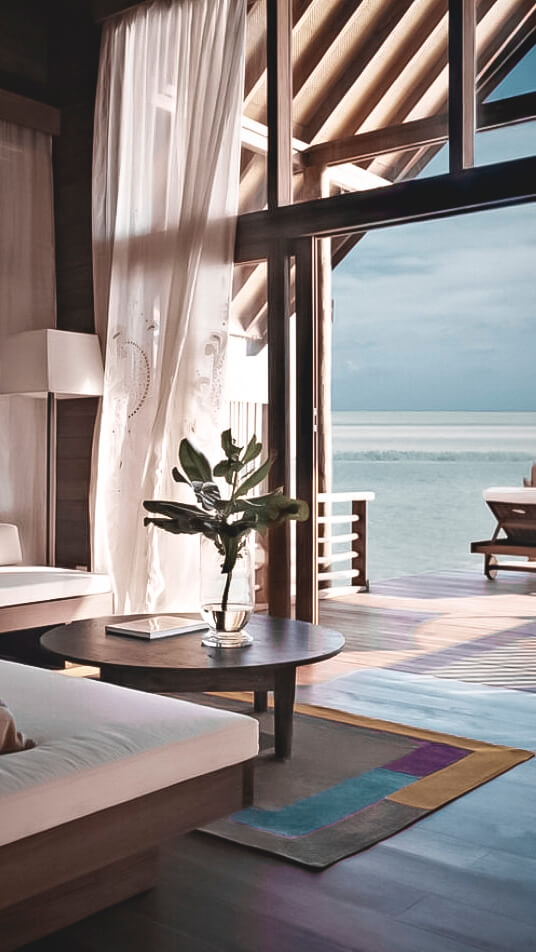 living room with a view-como cocoa island maldives
