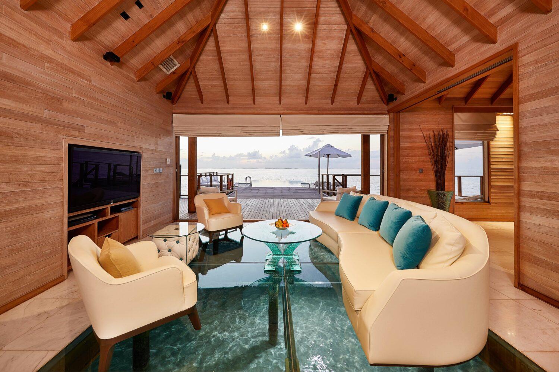 livingroom water suite-conrad maldives rangali island