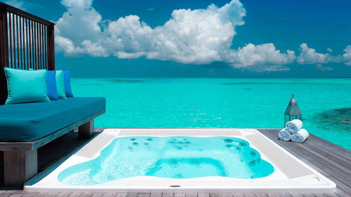private outdoor whirlpool-conrad maldives rangali island