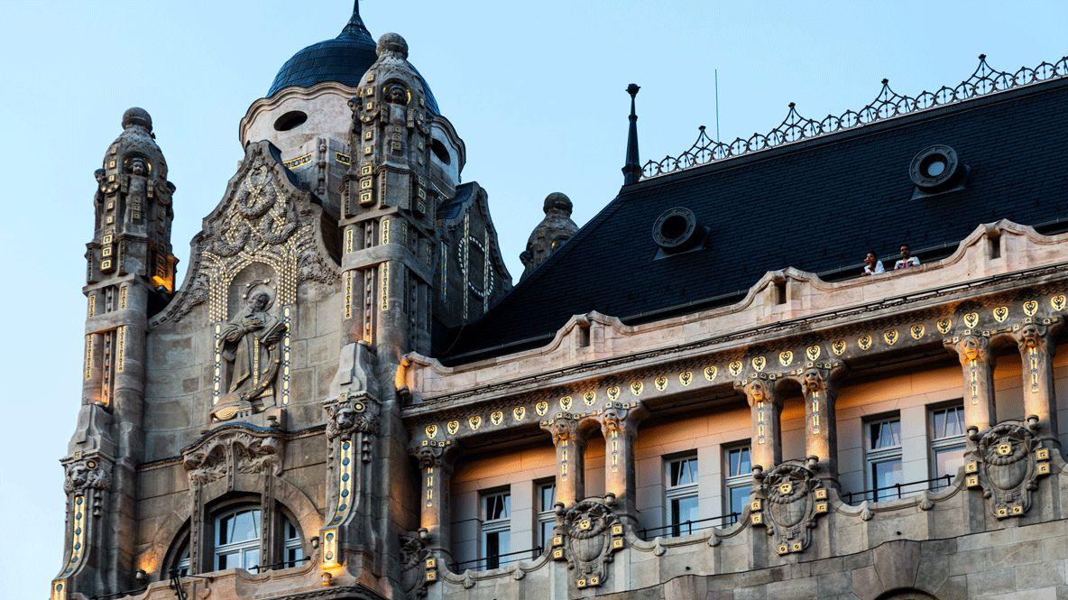 facade city hotel-four seasons hotel gresham palace budapest