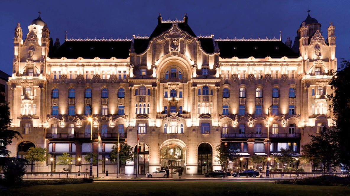 facade hotel-four seasons hotel gresham palace budapest