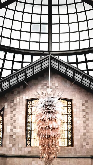 glass dome-four seasons hotel gresham palace budapest