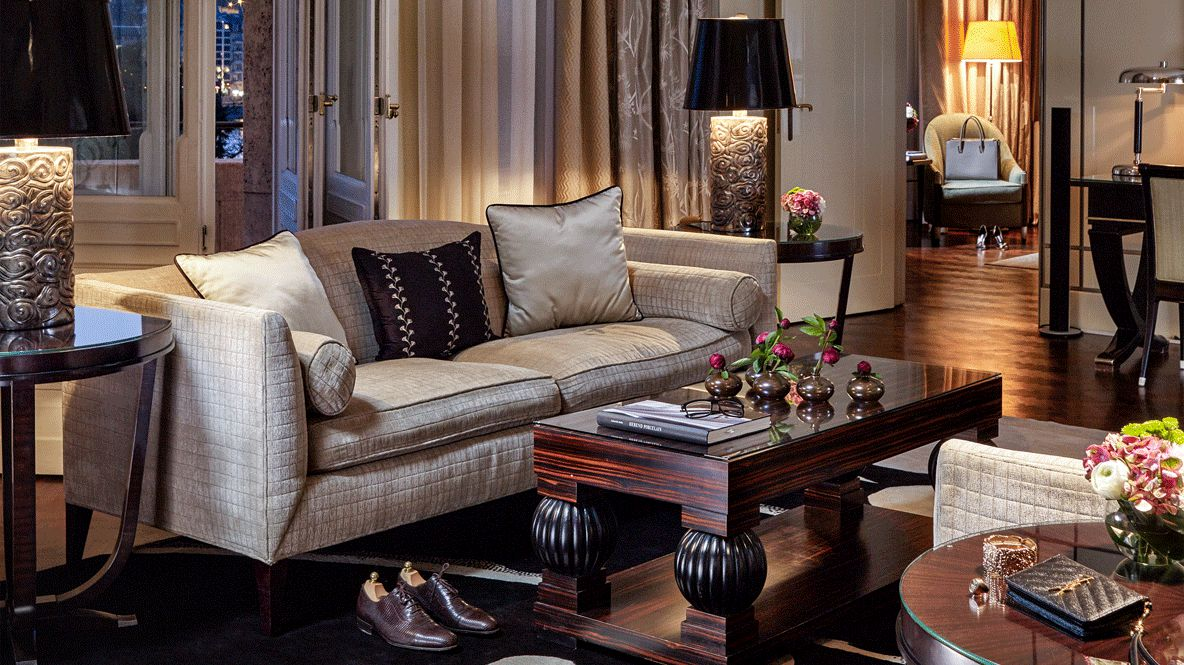 living room hotel-four seasons hotel gresham palace budapest