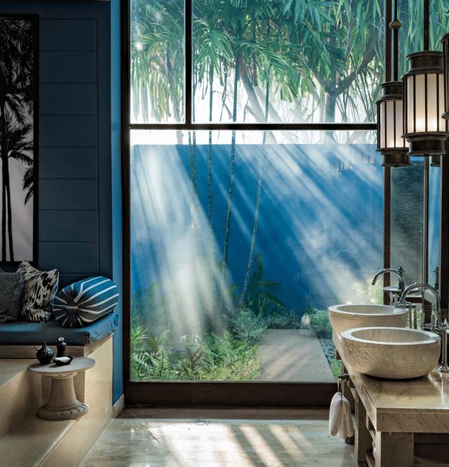 spa bathroom-four seasons langkawi