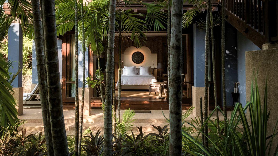 garden view ground pavilion-four seasons langkawi