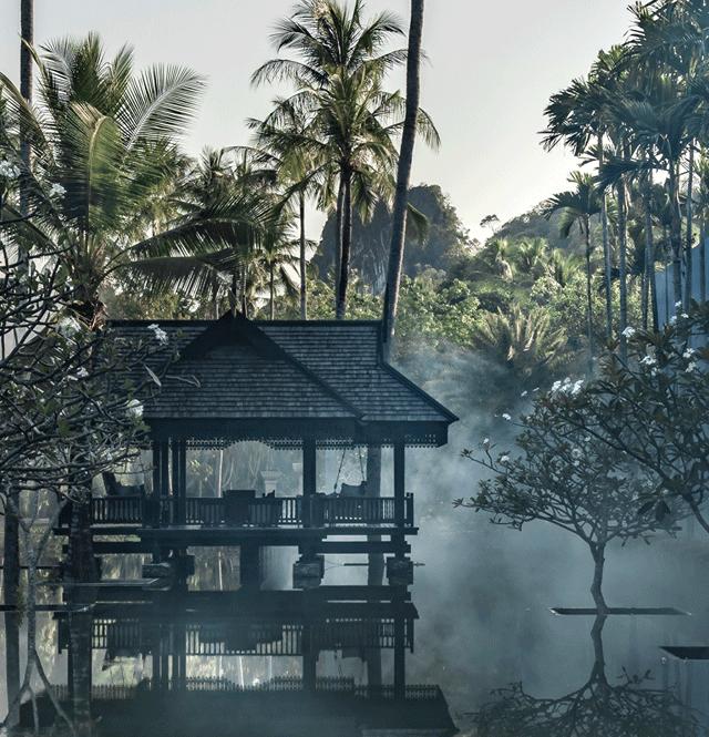 pool morning-four seasons langkawi
