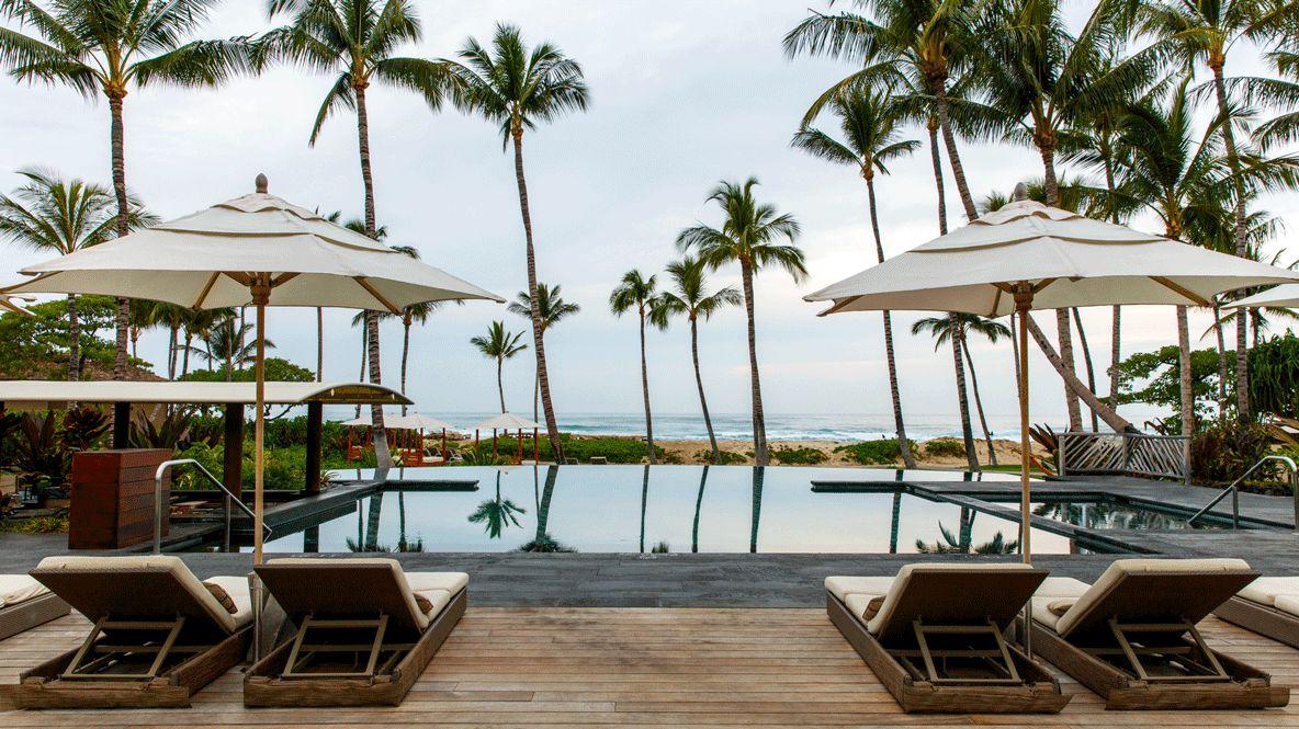 private villa ocean view-four seasons resort hualalai hawaii
