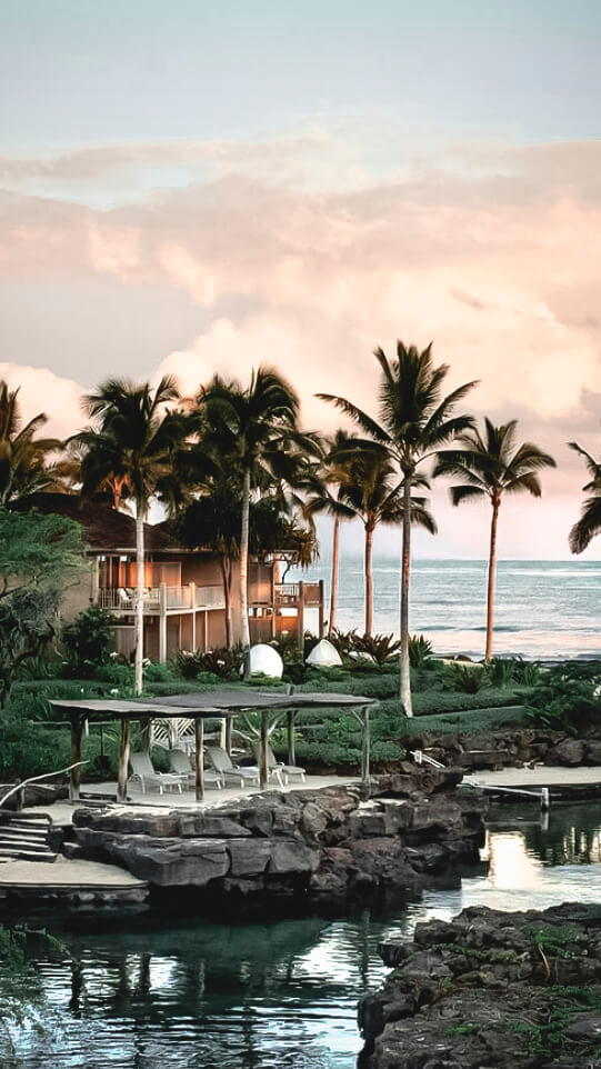 hotel shore-four seasons resort hualalai hawaii