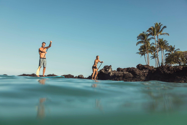 SUP-four seasons resort hualalai hawaii