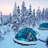 private igloo-kakslauttanen artic resort