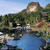 pool area mountain view-four seasons langkawi