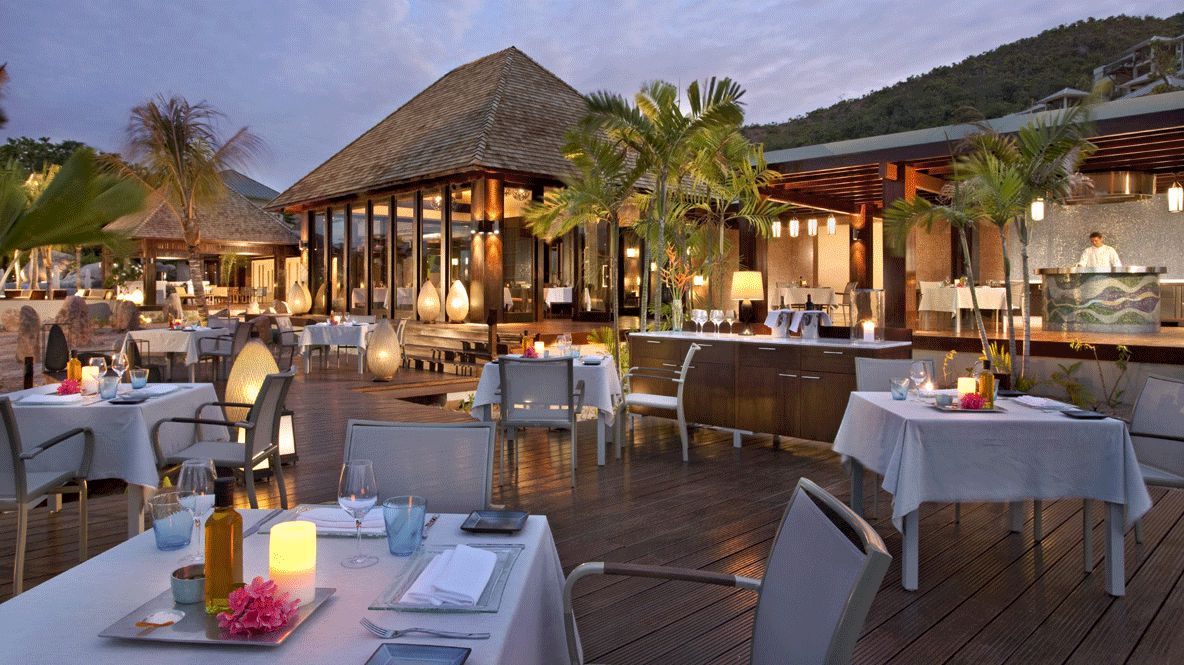 hotels in heaven raffles seychelles culinary restaurant dining