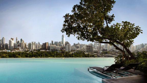 hotels in heaven sofitel bangkok pool outdoor tree view city
