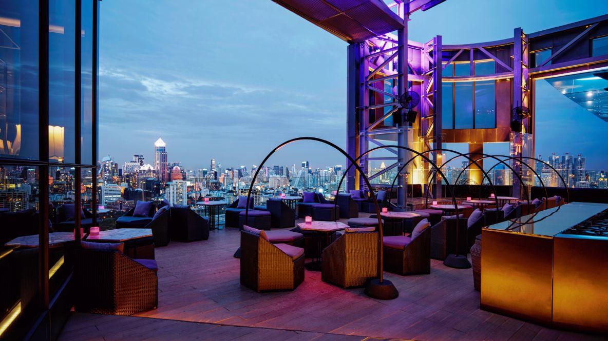 hotels in heaven sofitel bangkok terasse bar view lights mood