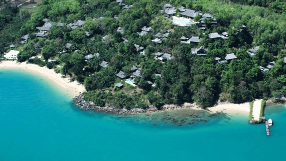 hotels in heaven six senses yao noi location island blue water sea beach