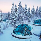 private igloo-kakslauttanen artic resort