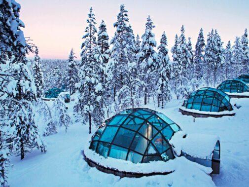 private igloo-Kakslauttanen Arctic Resort